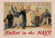 All Together! Enlist in the Navy
