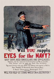 Will You Supply Eyes for the Navy?