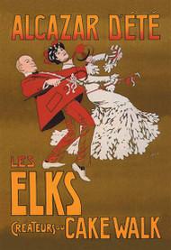 Alcazar Dete Les Elks Createurs Cake Walk