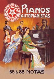 Pianos Autopianistas with Beethoven