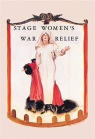 Stage Women's War Relief