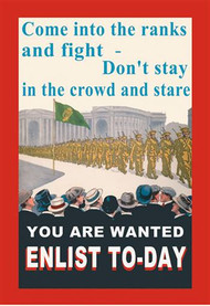 Enlist To-Day