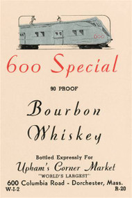 600 Special Bourbon Whiskey
