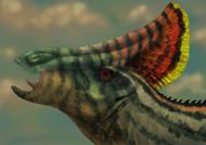 Olorotitan Dinosaur Portrait