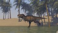 Tyrannosaurus Rex Hunting In Shallow Water II
