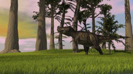 Tyrannosaurus Rex In A Grassy Field IV