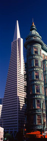 Columbus Tower and TransAmerica Pyramid