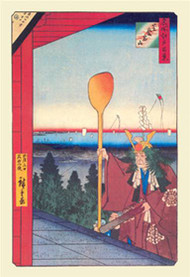 Festival by Hiroshige