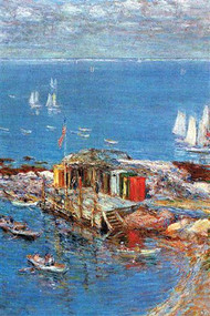 Afternoon in August by Hassam