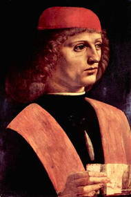 Portrait of a Musician by Da Vinci