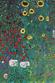 Garden by Gustav Klimt