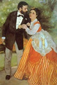 Alfred Sisley by Renoir