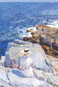 Southern Rock Cliffs, Appledore by Hassam