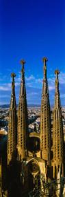 Towers Of Sagrada Familia