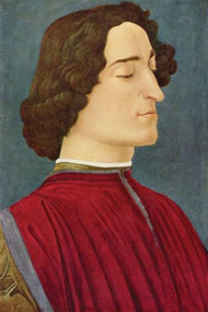 Portrait of Giuliano De Medici by Botticelli