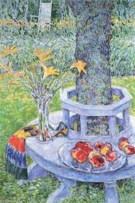 Mrs. Hassam's Garden by Hassam