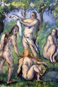 Bathers by Cezanne
