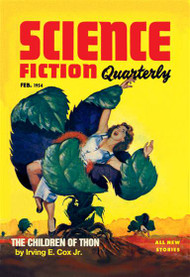 Science Fiction Quarterly Killer Plants