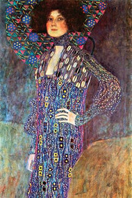Portrait of Emily Fidge by Gustav Klimt
