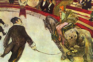 In the Circus by Toulouse Lautrec