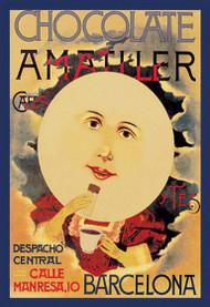 Chocolate Amatller: Barcelona (Moon)