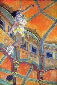 Miss Lala in Circus Fernando by Edgar Degas