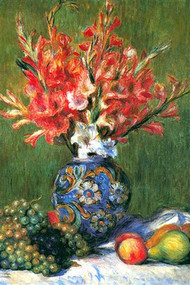 Flowers and Fruit by Renoir