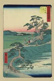 Chiryu by Hiroshige