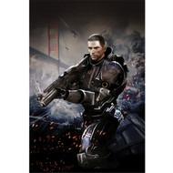 Mass Effect Wall Graphics: Commander Shepard Cover Art II
