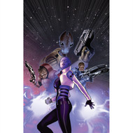 Mass Effect Wall Graphics: Invasion #4 (Paul Renaud Variant Cover)