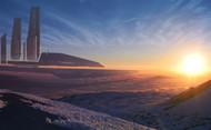 Mass Effect Wall Graphics: Utopian
