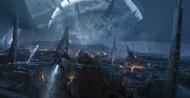 Mass Effect Wall Graphics: Citadel Battle