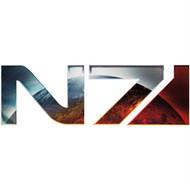 Mass Effect Wall Graphics: N7 Badge