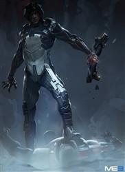 Mass Effect Wall Graphics: Kai Leng