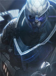 Mass Effect Wall Graphics: Archangel