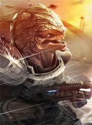 Mass Effect Wall Graphics: Grunt