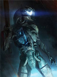 Mass Effect Wall Graphics: Legion