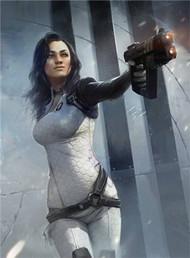 Mass Effect Wall Graphics: Miranda