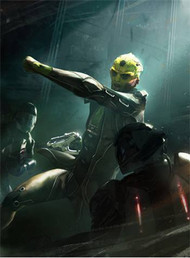 Mass Effect Wall Graphics: Thane