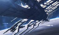 Mass Effect Wall Graphics: Purgatory