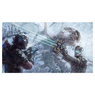 Dead Space Wall Graphics: Dead Space 3 Carver + Isaac Wall Mural