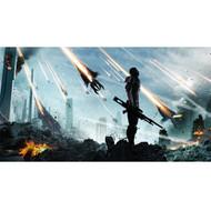 Mass Effect Wall Graphics: Commander Shepard Cover Art III