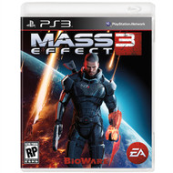 Mass Effect Wall Graphics: Mass Effect 3: PS3 Box Art