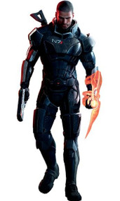 Mass Effect Wall Graphics: Commander Shepard Wall Graphic