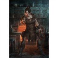 Dragon Age Wall Graphics: Dwarf Commoner