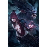 Dragon Age Wall Graphics: Morrigan Ogre Detailed