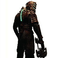Dead Space Wall Graphics: Isaac Original Suit 3/4 Cutout Wall Graphics