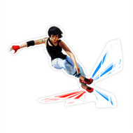 Mirror's Edge Faith Cutout: Jumping