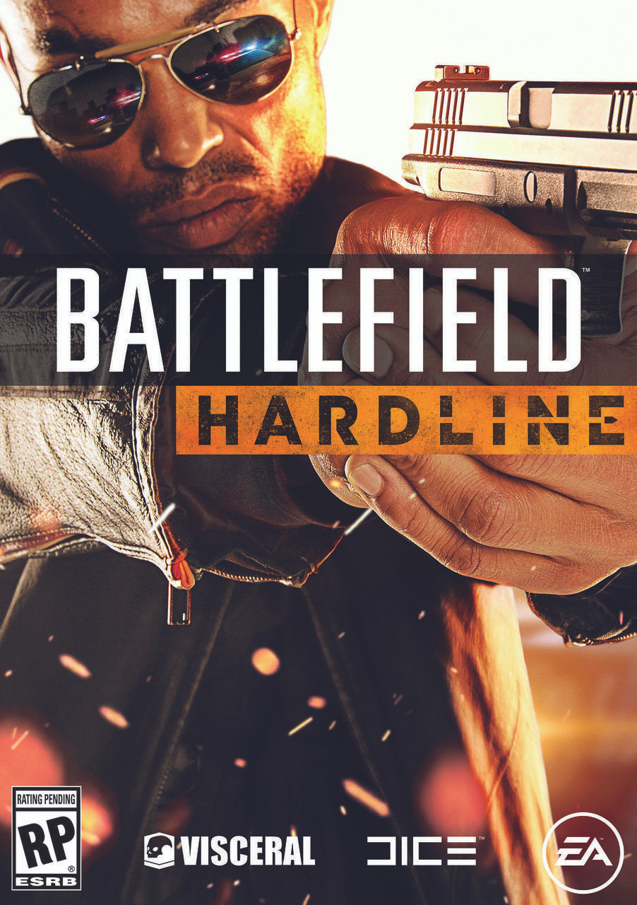 Battlefield Hardline Box Art Walls 360