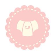 Caleb Gray Studio: Diaper Badge